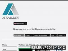 Miniaturka domeny www.ataszek.pl