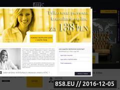 Miniaturka domeny www.atfconsulting.eu