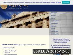 Miniaturka domeny www.athenamarmor.pl