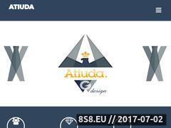 Miniaturka atiuda.com (Profesjonalne strony WWW Nysa)
