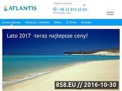 Miniaturka domeny atlantistravel.pl