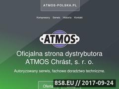 Miniaturka atmos-polska.pl (Dystrybucja i sprzedaż kompresorów i sprężarek)