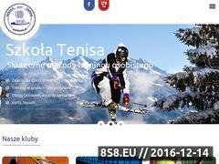 Miniaturka www.atoltenis.pl (Klub tenisowy)
