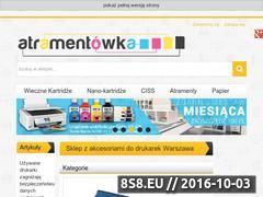 Miniaturka domeny atramentowka.com