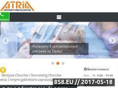 Miniaturka atria.com.pl (Leczenie stomatologiczne oraz ortodontyczne)