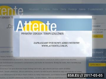 Zrzut strony Attente - Prywatna Klinika Uzależnień - Leczenie uzależnień, Leczenie hazardu