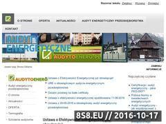 Miniaturka domeny www.audytoenerg.pl