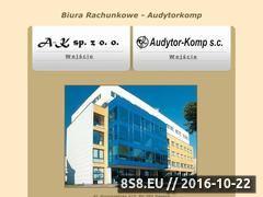 Miniaturka domeny www.audytorkomp.pl