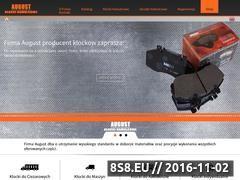 Miniaturka domeny august.com.pl
