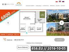 Miniaturka domeny www.aurapark.com.pl