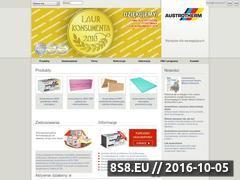 Miniaturka domeny www.austrotherm.pl