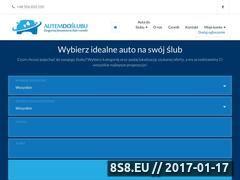 Miniaturka Wynajem limuzyn, dorożek i samochodów do ślubu (autemdoslubu.pl)