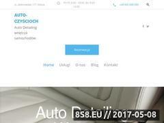 Miniaturka auto-czyscioch.pl (Auto detailing)