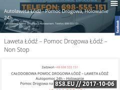 Miniaturka domeny auto-laweta-lodz.pl