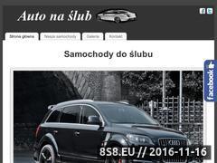 Miniaturka Wynajem samochodów z kierowcą na śluby i wesela (auto-na-slub.pl)