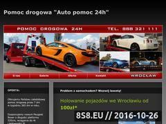 Miniaturka domeny www.auto-pomoc-24h.pl