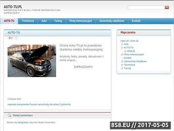 Zrzut strony Kredyty samochodowe