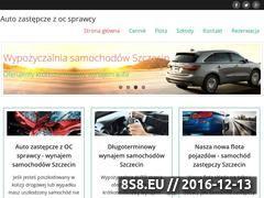 Miniaturka Auto zastępcze - wynajem samochodów i samochód z OC (auto-zastepcze.info)