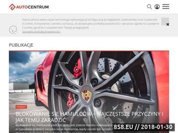 Zrzut strony Portal motoryzacyjny