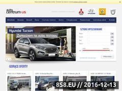 Miniaturka www.autocentrumlis.pl (Autoryzowany serwis Mitsubishi Kalisz)