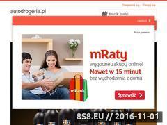 Miniaturka domeny www.autodrogeria.pl