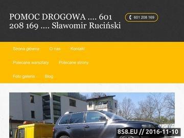 Zrzut strony Pomoc Drogowa__ 601 208 169___ 726 666 111 . Warszawa - Centrum