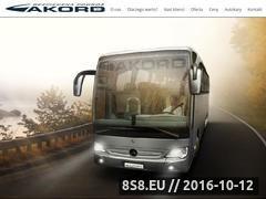 Miniaturka www.autokaryakord.pl (Wynajem busa Warszawa i wynajem autokarów)