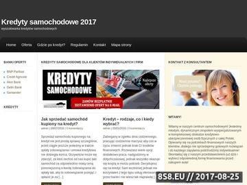 Zrzut strony Kredyty Warszawa
