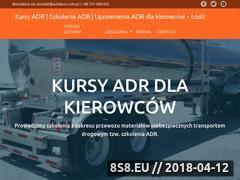 Miniaturka autokurs.com.pl (Szkolenia i uprawnienia ADR)