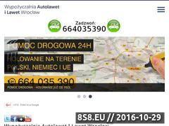 Miniaturka domeny www.autolawety-wroclaw.pl