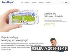 Miniaturka domeny www.automapa.pl