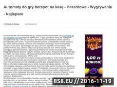 Miniaturka domeny automat-hotspot.pl