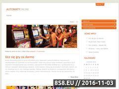 Miniaturka domeny automaty-online.com.pl