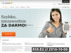 Miniaturka domeny www.automatycznafaktura.pl
