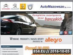 Miniaturka domeny www.automazowsze.pl