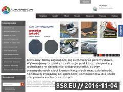 Miniaturka domeny automescon.com.pl