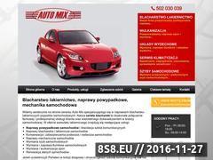 Miniaturka domeny www.automix-lodz.pl