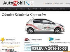 Miniaturka domeny www.automobil-torun.pl