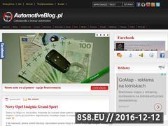 Miniaturka domeny automotiveblog.pl
