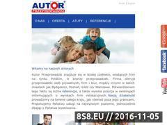 Miniaturka domeny www.autor.pl