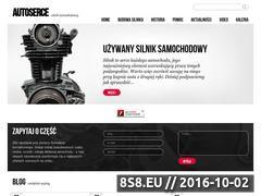 Miniaturka www.autoserce.pl (Blog motoryzacyjny poświęcony silnikom)