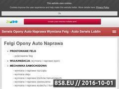 Miniaturka domeny autoserwislublin.jimdo.com
