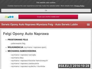 Zrzut strony Auto serwis Lublin