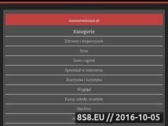 Miniaturka domeny www.autoserwisnaso.pl