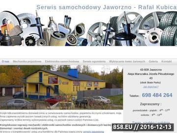 Zrzut strony Warsztat serwis samochodowy Autotech Jaworzno