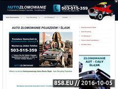 Miniaturka domeny www.autozlomowanie-kasacja.3-2-1.pl