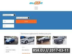 Miniaturka autto.pl (Darmowe ogłoszenia motoryzacyjne)