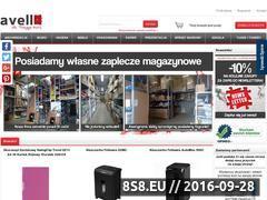 Miniaturka Hurtownia artykułów biurowych (avell.pl)