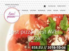 Miniaturka domeny avepizza.pl