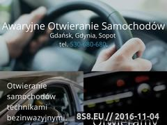 Miniaturka domeny www.awaryjne-otwieranie-samochodow-gdansk.com